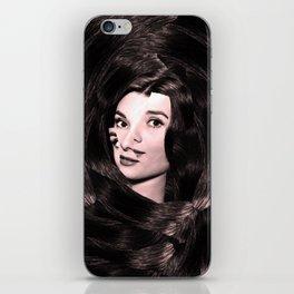 Audrey Hepburn Abstract iPhone Skin