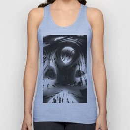 Young as the morning, old as the sea. Unisex Tank Top