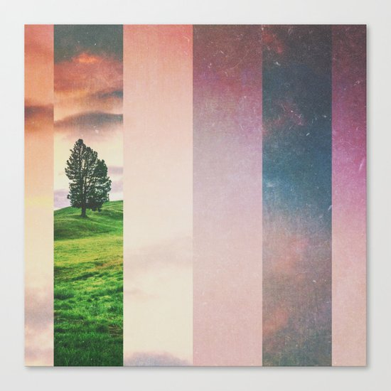 Fractions A61 Canvas Print