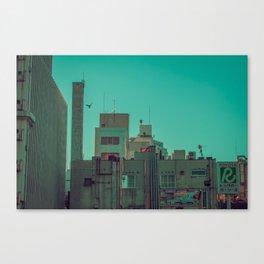 TOKYO CITY FLYING Canvas Print