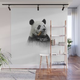 Panda contemplator Wall Mural