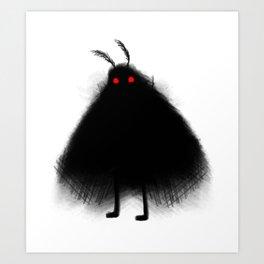Your Fellow Friendly Cryptid: Mothman Art Print