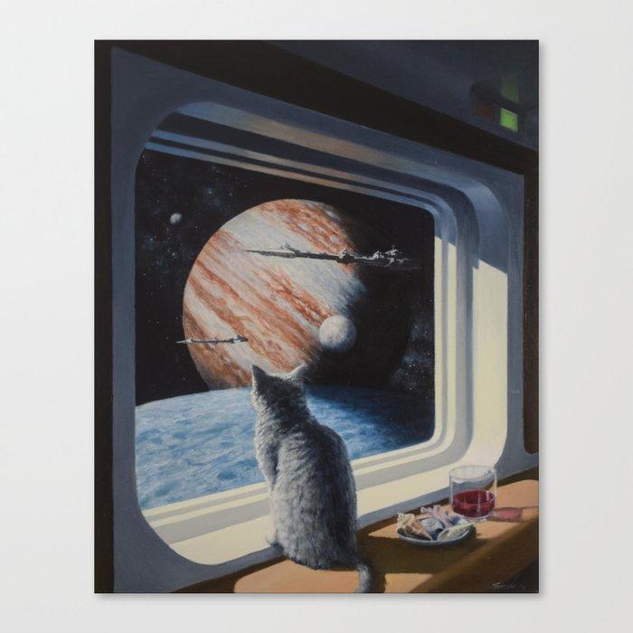 Ship's Cat Leinwanddruck