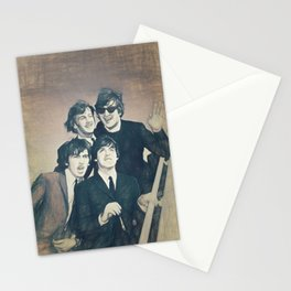 Beatle - John, Paul, George, and Ringo Stationery Cards