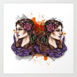 Nalah Art Print