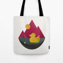 Duck Dance Tote Bag
