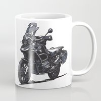 bmw Mugs featuring BMW R1200GS by Ernie Young