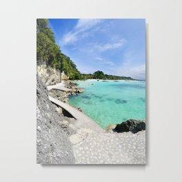 Boracay Bay Metal Print