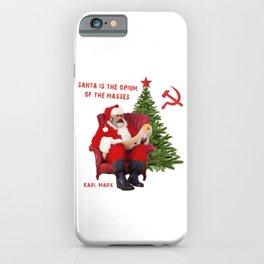 Karl Marx Santa iPhone Case
