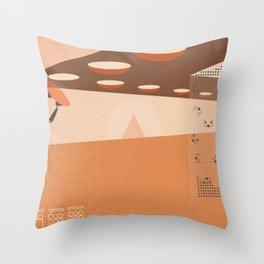 Giant Repair Throw Pillow
