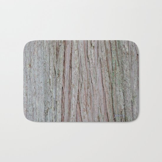 TEXTURES --  Cedar Bark Bath Mat