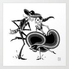 ZAPATEADO Art Print