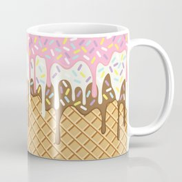 Neapolitan Ice Cream with Sprinkles Coffee Mug