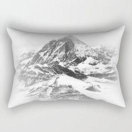 Blurry Mountain Rectangular Pillow