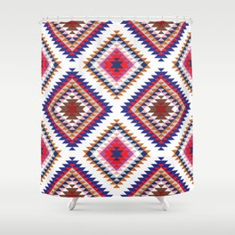 Aztec Rug Shower Curtain