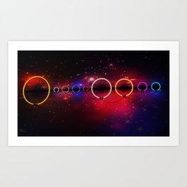 Electric Universe Art Print