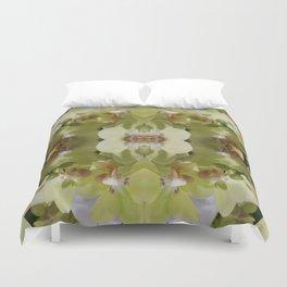 Orchid (Mandala-esque #123a) Duvet Cover