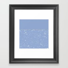 XVI - Blue 1 Framed Art Print
