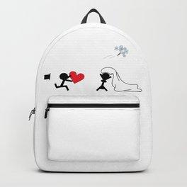 I marry you by Oliver Henggeler Backpack