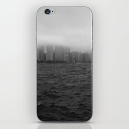 misty windy city iPhone Skin