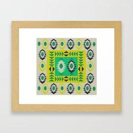 Fresh ethnic decor Framed Art Print