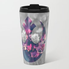 Floral Rebel Alliance Travel Mug