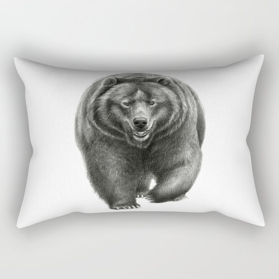 Brown Bear SK068 Rectangular Pillow