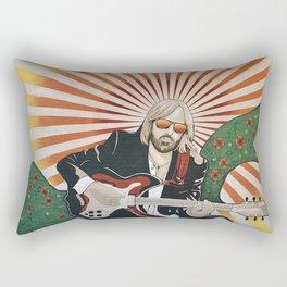 Wildflowers (Tom Petty Tribute Mural, Gainesville) Rectangular Pillow