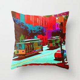 San Francisco 005 Throw Pillow