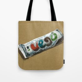 Vego vegan Chocolate is a thing I use to define myself Tote Bag