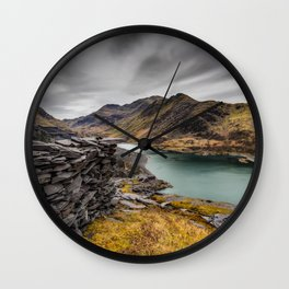 Snowdon Moutain Range Wall Clock