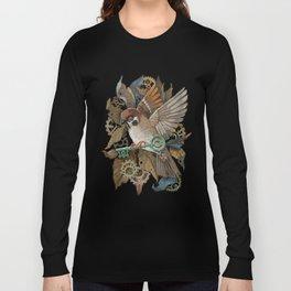 Clockwork Sparrow Long Sleeve T-shirt