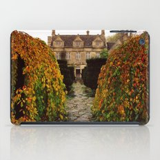 Barnsley House In Autumn iPad Case