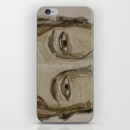 Portrait of a Guy iPhone Skin
