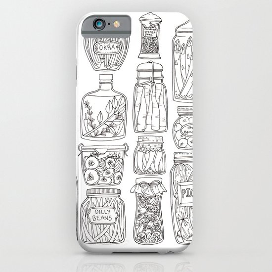 Pickles Print iPhone & iPod Case