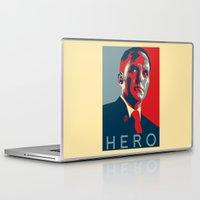 hero Laptop & iPad Skins featuring Hero by Skylofts Merch
