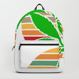 Retro Cannabis Weed Kiffer Backpack