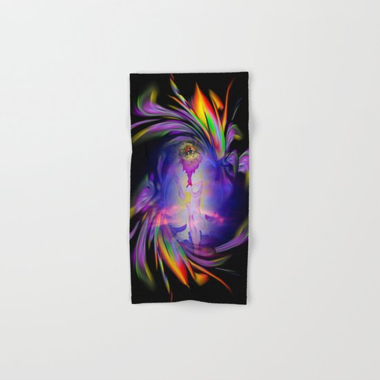 Flowermagic - good luck Hand & Bath Towel