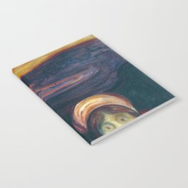Anxiety by Edvard Munch Notebook