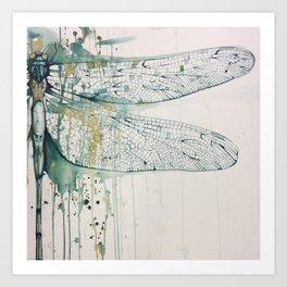 Dragonfly by Ms. Morgan Art Print