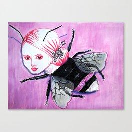 bee Linda Canvas Print