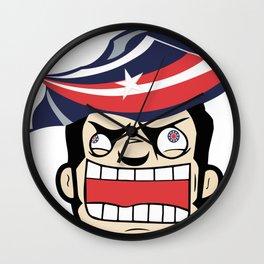 Columbus Rabid Team Logo Wall Clock