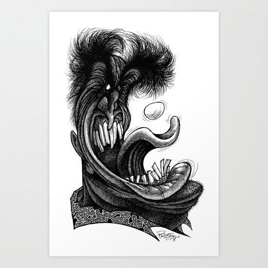 Eggroll Art Print