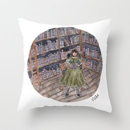 Good Book Throw Pillow