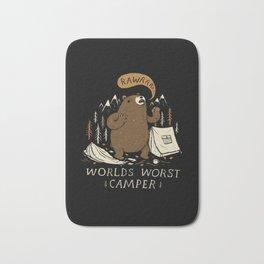 worlds worst camper Bath Mat