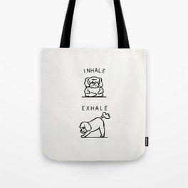 Inhale Exhale Cockapoo Tote Bag