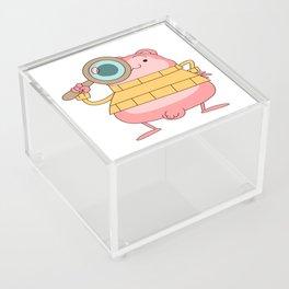 Peepoodo is watching you Acrylic Box