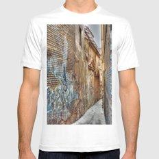 The Passageway, Granada, Spain Mens Fitted Tee MEDIUM White