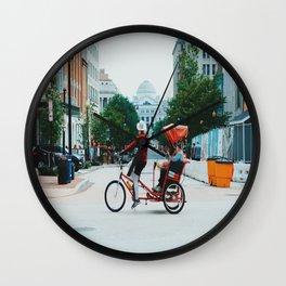 Retrograde Wall Clock