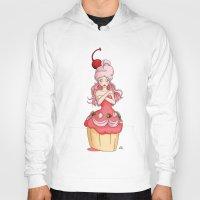 dessert Hoodies featuring Dessert Princess by Kaylynn Franco